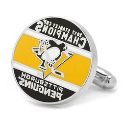 NHL 2017 Pittsburgh Penguins NHL Champions Cufflinks, Offici