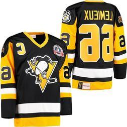 $300 Pittsburgh Penguins Mario Lemieux Mitchell & Ness 91-92