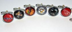 American hockey league logo cufflinks jewelry hockey sports