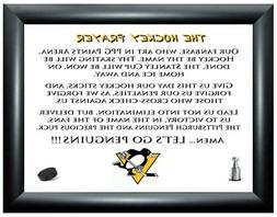 HOCKEY PRAYER PICTURE - Pittsburgh Penguins  CROSBY/LEMIEUX