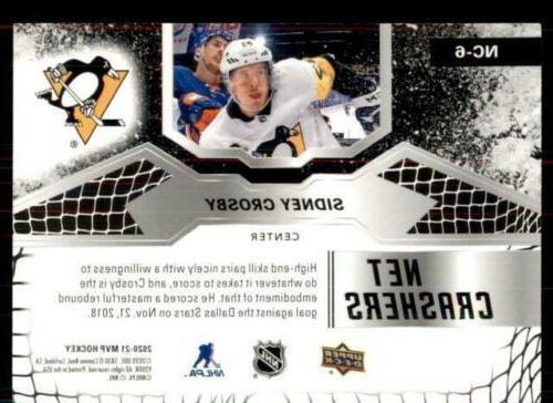 2020-21 Crashers #NC-6 Sidney Crosby - Pittsburgh