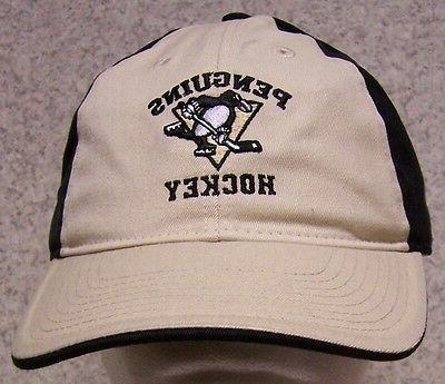 embroidered baseball cap sports nhl pittsburgh penguins