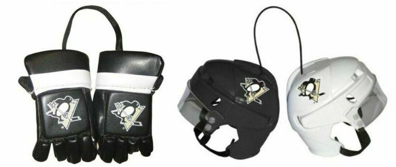 NHL PENS Mini Gloves Mini Helmets Combo New