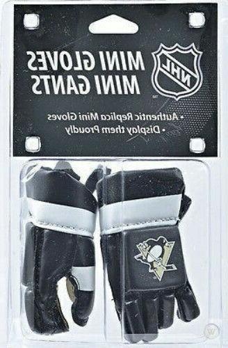 NHL Pittsburgh PENS Mini Gloves Mini Helmets New