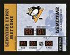 Pittsburgh Penguins Bluetooth Scoreboard Wall Clock Free Shi