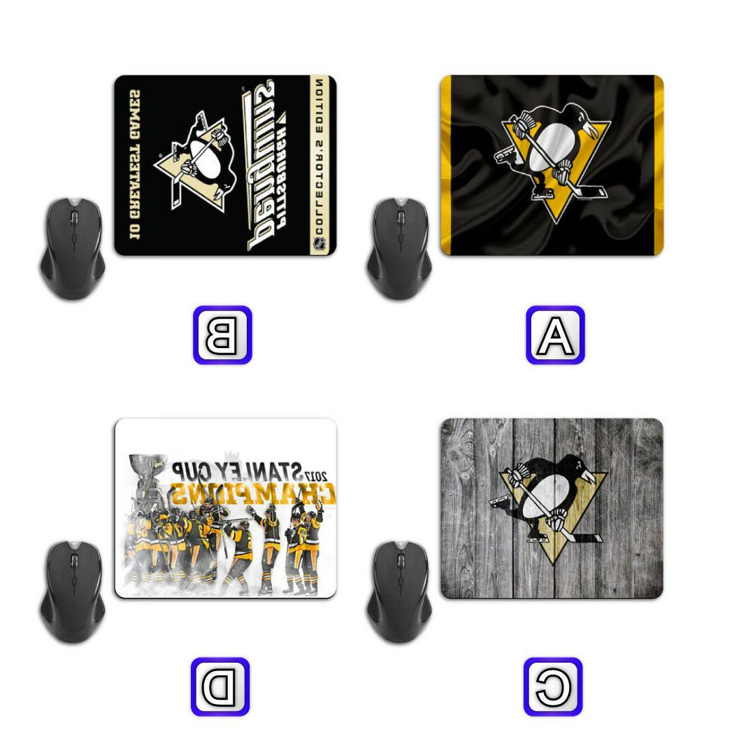 pittsburgh penguins computer mouse pad mat pc