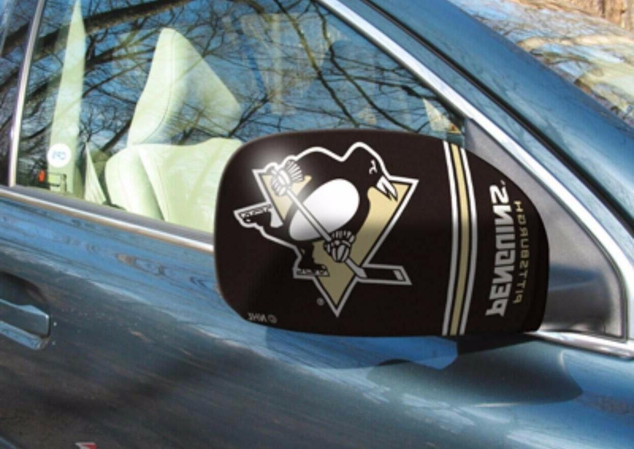 pittsburgh penguins nhl car truck mirror covers