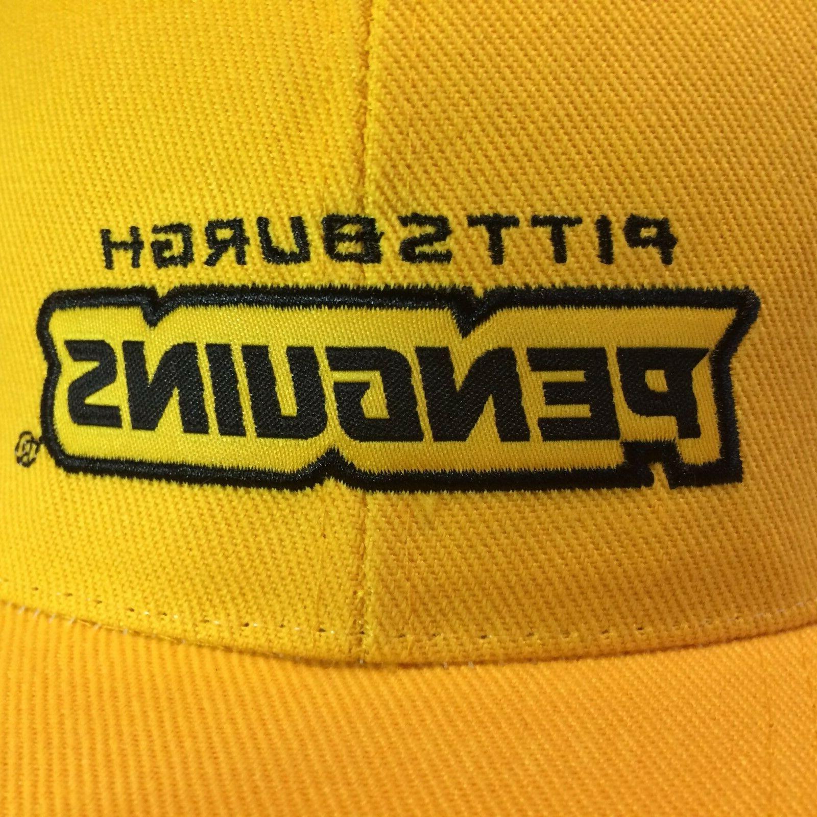 Vintage Pittsburgh Hat Strapback Baseball Cap NWOT Hockey