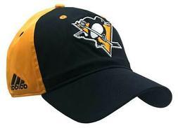 Adidas Men's Pittsburgh Penguins Coach Flex Fit Hat Baseball