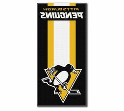 New Hockey Team Pittsburgh Penguins Beach Towel Bath 30'' x