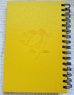 NEW Pittsburgh Penguins 2019 Charity Bag Gold Journal Spiral