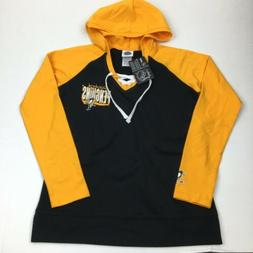 NEW Women's NHL Pittsburgh Penguins Hooded Long Sleeve Pullo
