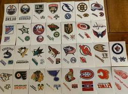 NHL Logo Hockey Decal Stickers Choose Your Team
