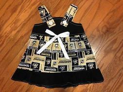 NHL Pittsburgh Penguins Baby Infant Toddler Girls Dress * YO