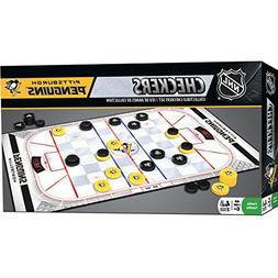 MasterPieces NHL Pittsburgh Penguins Checkers Game