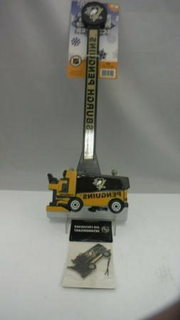 NHL Pittsburgh Penguins Logo Hockey Zamboni Ice Scraper & Ai