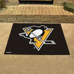 FANMATS NHL Pittsburgh Penguins Nylon Face All-Star Rug