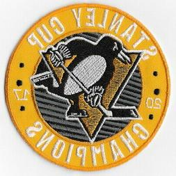 NHL Stanley Cup Champions 2017 Pittsburgh Penguins Iron on P