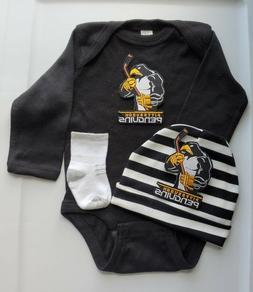 Penguins baby/infant 3 pc outfit Penguins infant/baby clothe