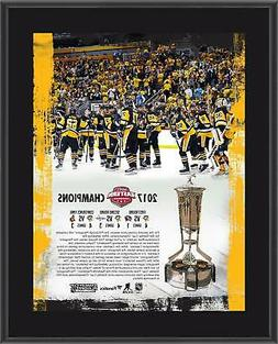 """Pittsburgh Penguins 10.5"""" x 13"""" 2017 NHL Eastern Conference"""