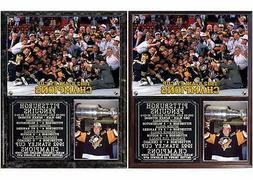 Pittsburgh Penguins 1992 Stanley Cup Champions Photo Plaque