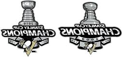 Pittsburgh Penguins 2016 and 2009 Stanley Cup Champions NHL