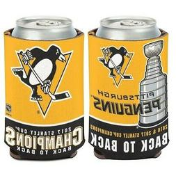 PITTSBURGH PENGUINS 2017 STANLEY CUP CHAMPION NEOPRENE CAN C