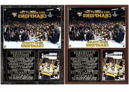 Pittsburgh Penguins 2017 Stanley Cup Champions Photo Plaque