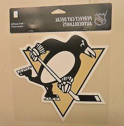 PITTSBURGH PENGUINS 8 X 8 DIE-CUT DECAL OFFICIALLY LICENSED