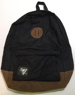 Pittsburgh Penguins Backpack Natural Black/Brown Hockey W/ L