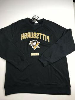 Pittsburgh Penguins Black Crewneck Sweater NHL CCM Heroes Of