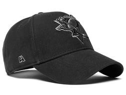"Pittsburgh Penguins ""Blackout"" NHL baseball cap hat"