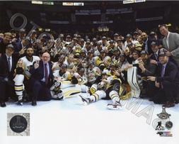 Pittsburgh Penguins Celebrate on Ice 2017 Stanley Cup Champi