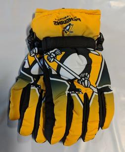 Pittsburgh Penguins Gloves Big Logo Gradient Insulated Winte