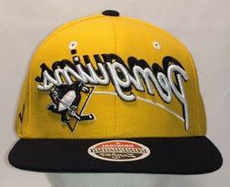 pittsburgh penguins hat nhl hockey snapback baseball