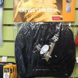 Pittsburgh Penguins head rest covers/cd visor organizer /car