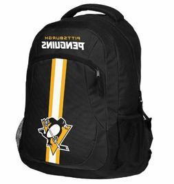Pittsburgh Penguins Logo Action BackPack School Bag Back pac