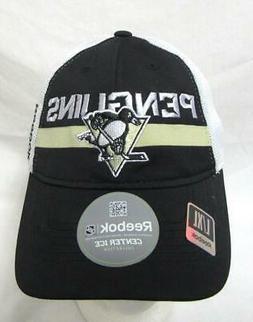 Reebok Pittsburgh Penguins Mens Size L/XL Baseball Cap Hat E
