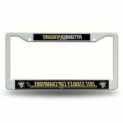 Pittsburgh Penguins NHL 2017 Stanley Cup Champs License Plat