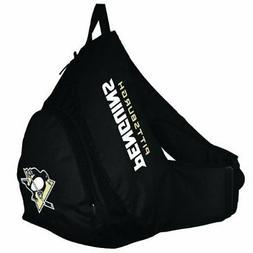Pittsburgh Penguins NHL Black Slingback Backpack Bag Shoulde