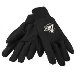 Pittsburgh Penguins NHL Black Sport Utility Work Gloves