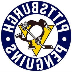 Pittsburgh Penguins NHL Color Die-Cut Decal / Car Sticker *F