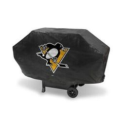 Pittsburgh Penguins NHL DELUXE Heavy Duty BBQ Barbeque Grill