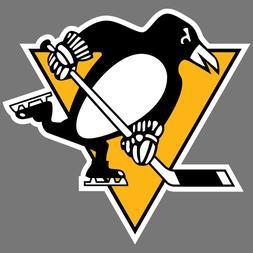 Pittsburgh Penguins NHL Hockey Vinyl Sticker Car Truck Windo