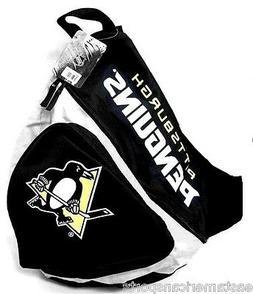 Pittsburgh Penguins NHL Sling Book Bag Camera Case Back Pack