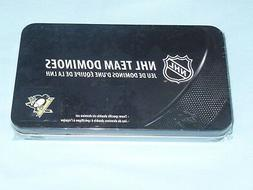 Pittsburgh Penguins NHL TEAM DOMINOES Double Six Domino Set