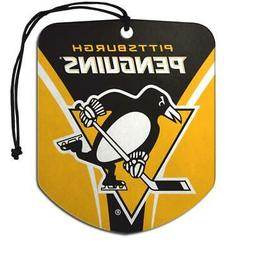 Pittsburgh Penguins Shield Design Air Freshener 2 Pack  NHL