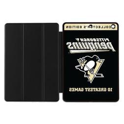 Pittsburgh Penguins Smart Case For iPad 5 6 Mini 1 2 3 Air
