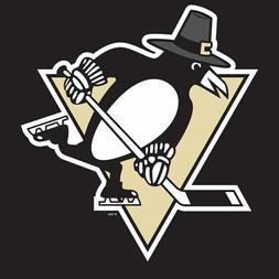 Pittsburgh Penguins Thanksgiving Pilgrim Penguin Mens Polo X