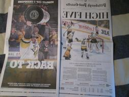 Pittsburgh Penguins Win 2017 Stanley Cup Post Gazette Newspa